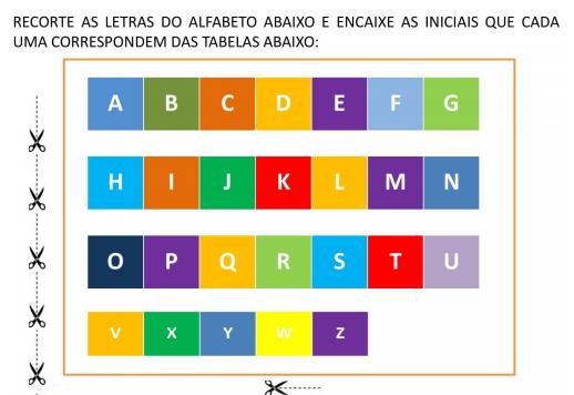 Jogo De Alfabetizacao Para Imprimir Gratis Atividades Infantis