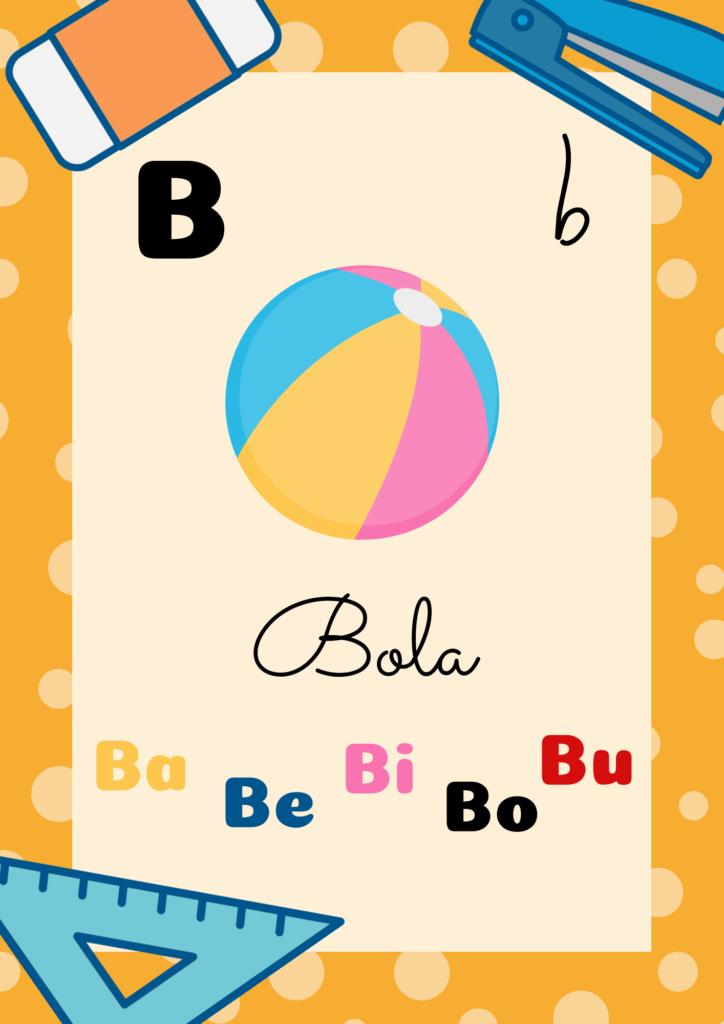 Alfabeto De Parede Para Imprimir Atividades Infantis